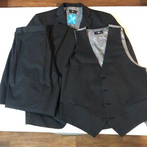 Marc Ecko suit set, size 42S, 36x34 pants